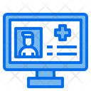 Online Doctor Online Checkup Computer Icon