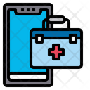 Online Doctor Technology Medical Icon