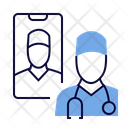 Doctor Online Doctor Physician Icon
