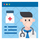 Online Doctor Advise Icon