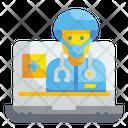 Online Doctor Advise Doctor Advise Icon
