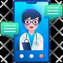 Online Doctor Visit Doctor Visit Medical Icon