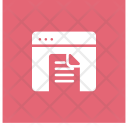Document File Webpage Icon