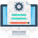 Online Document Settings Icon