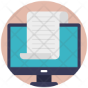Document E Document File Icon