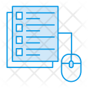 Document Pages Online Icon