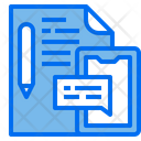 File Document Pen Icon