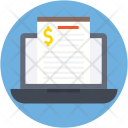 Online Document Financial Icon