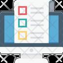 Online Document E Docs E Book Icon