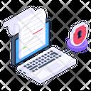 Online Document Security Icon