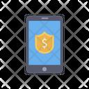 Online Dollar Shield Icon