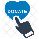 Online donate money Icon
