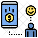 Online Donation Charity Help Icon