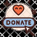 Online Donation Donation Button Icon