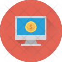 Online Earning Work Icon