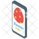 Online Easter greetings Icon
