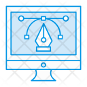Editor Online Design Icon