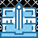 Digital Graphic Online Icon
