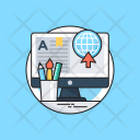 Online Education Elearning Icon