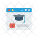 Online Education Browser Icon