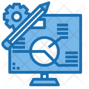 Elearning Education Online Icon