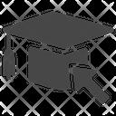 Cap Online Education Graduated Icon