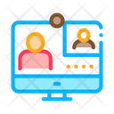 Student Personal Computer Icon