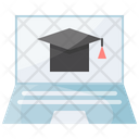 Online Education Study Icon
