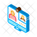 Computer Personal Student Icon