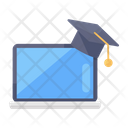 Online Education Online Learning Education Program Icon