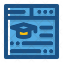 Online Education Education Learning Icon