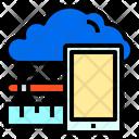 Smartphone Screen Cloud Icon