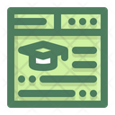 Education Learning Online Icon