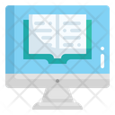 Online Education Computer Online Course Icon