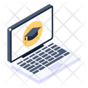 E Learning Online Education Online Degree Icon