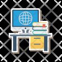 Device Computer Desk Icon