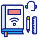 Online Education Book Education Icon