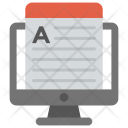 Academic Website Learning Icon