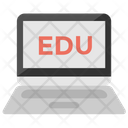 E Learning Online Education Icon