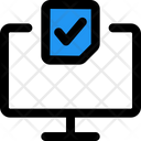 Online Election Online Voting E Voting Icon