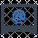 Computer Desktop Monitor Icon