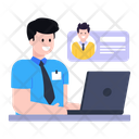 Online Client Chat Online Employee Chat Online Chat Icon