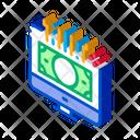 Internet Money Computer Icon