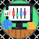 Online Preferences Online Equalizers Online Adjusters Icon