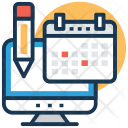 Diary Planner Calendar Icon