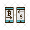 Online Exchange Money Exchange Money Transfer Icon