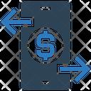 Online Exchange Mobile Smartphone Icon