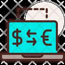 Online Exchange Money Transfer Money Exchange Icon