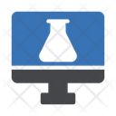 Online Experiment Lab Experiment Icon