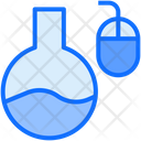 Online Experiment Lab Chemistry Icon